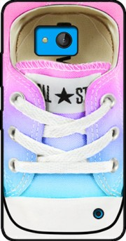 All Star Basket shoes rainbow Case for Microsoft Lumia 640