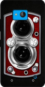 Vintage Camera Red for Microsoft Lumia 640