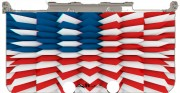 3D Poly USA flag Case for New Nintendo 3DS