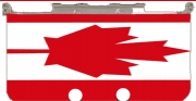 Flag Canada Case for New Nintendo 3DS