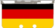 Flag Germany Case for New Nintendo 3DS