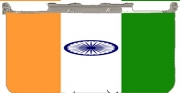 Flag India Case for New Nintendo 3DS