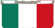 Flag Italy Case for New Nintendo 3DS