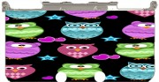 funky owls Case for New Nintendo 3DS