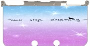 Never Stop dreaming Case for New Nintendo 3DS