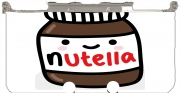 Nutella Case for New Nintendo 3DS