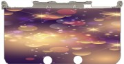 Purple Sparkles Case for New Nintendo 3DS