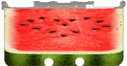 Summer Love watermelon Case for New Nintendo 3DS