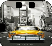 Yellow taxi City of New York City Case for Nintendo 2DS