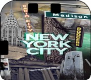New York City II [green] Case for Nintendo 2DS