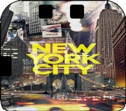 New York City II [yellow] Case for Nintendo 2DS
