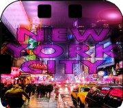 New York City - Broadway Color Case for Nintendo 2DS