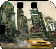 New York apocalyptic Case for Nintendo 2DS