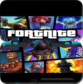 case fortnite battle royale art feat gta for new nintendo 2ds xl - fortnite nintendo 2 ds