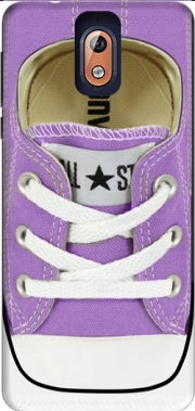 All Star Basket shoes purple Case for Nokia 3.1