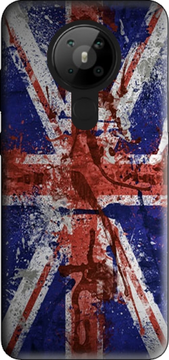 Case Nokia 5.3 with pictures flag