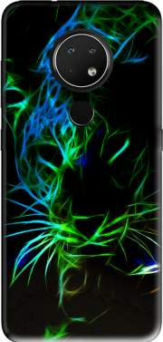 Abstract neon Leopard Case for Nokia 6.2