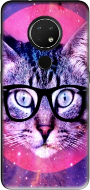 Cat Hipster Case for Nokia 6.2