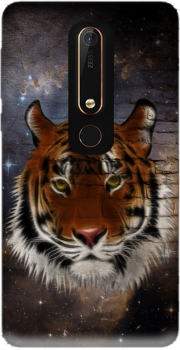 Abstract Tiger Case for Nokia 6.1