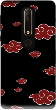 Akatsuki Cloud REd Case for Nokia 6.1