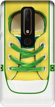 All Star Basket shoes Brazil Case for Nokia 6.1
