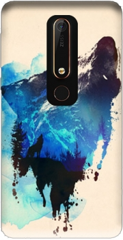 Alone as a wolf Case for Nokia 6.1
