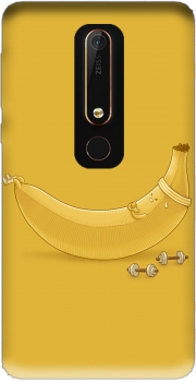 Banana Crunches Case for Nokia 6.1