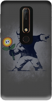 Banksy Flower bomb Case for Nokia 6.1