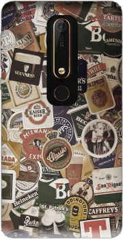Beers of the world Case for Nokia 6.1