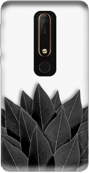 Black Leaves Case for Nokia 6.1