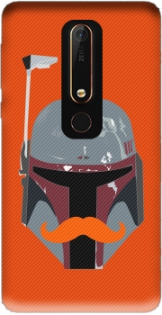 Boba Stache Case for Nokia 6.1