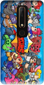 Brawl stars Case for Nokia 6.1