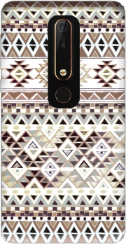 BROWN TRIBAL NATIVE Case for Nokia 6.1
