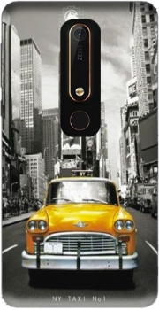 Yellow taxi City of New York City Case for Nokia 6.1