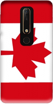 Flag Canada Case for Nokia 6.1