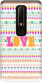 Aztec love candy Case for Nokia 6.1