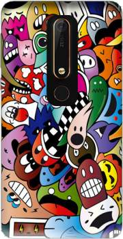 Cartoon Case for Nokia 6.1