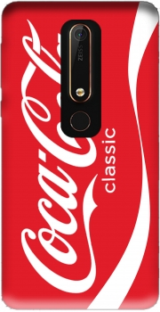 Coca Cola Rouge Classic Case for Nokia 6.1
