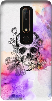 Color skull Case for Nokia 6.1