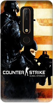 Counter Strike CS GO Case for Nokia 6.1