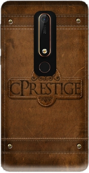 cPrestige leather wallet Case for Nokia 6.1