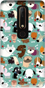 Dogs Case for Nokia 6.1