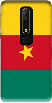 Flag of Cameroon Case for Nokia 6.1