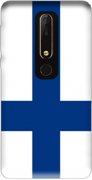 Flag of Finland Case for Nokia 6.1