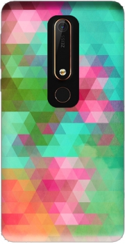 Exotic Triangles Case for Nokia 6.1