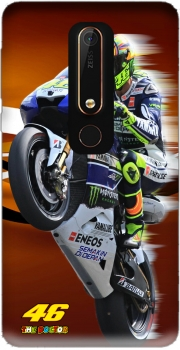 Fan de Yamaha En Feu VR46 Doctors Case for Nokia 6.1