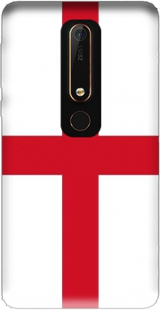 Flag England Case for Nokia 6.1