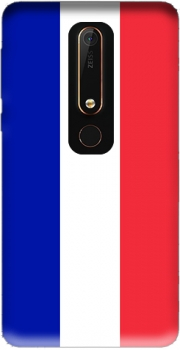 Flag France Case for Nokia 6.1