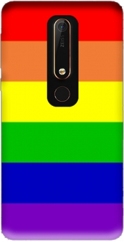Flag Gay Rainbow Case for Nokia 6.1