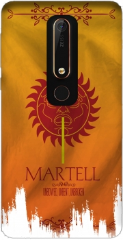Flag House Martell Case for Nokia 6.1